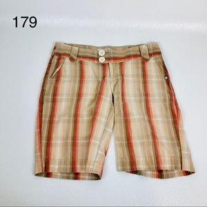 Billabong Shorts Lightweight Striped Size 30